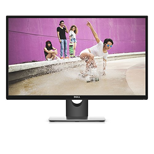 Dell SE2717H 27-inch IPS Monitor (6 ms, Full HD 1920 x 1080 at 75 Hz, AMD Free-Sync, VGA/HDMI) - Black