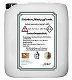 Acide chlorhydrique 33% min. L'Industrie Ware 33–36% HCL 5l