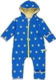 loud + proud Unisex Baby Schneeanzug Overall Woll-Anteil-5016, Blau (Pacific Pa), 68 (Herstellergröße: 62/68)