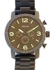 Fossil Herren-Armbanduhr Analog Quarz Edelstahl JR1356