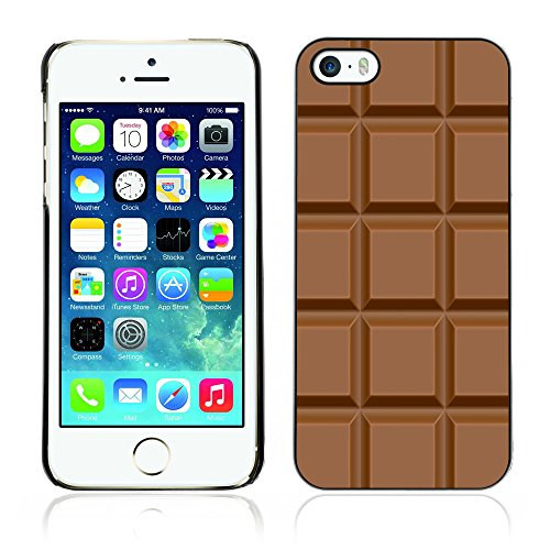 Graphic4You Praline Schokolade Design Harte Hülle Case Tasche Schutzhülle für Apple iPhone 5 und 5S Design #2