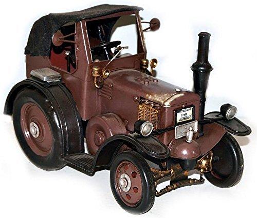 Nitsche - Blechmodell Lanz Traktor, braun, Länge: 25cm (37521)