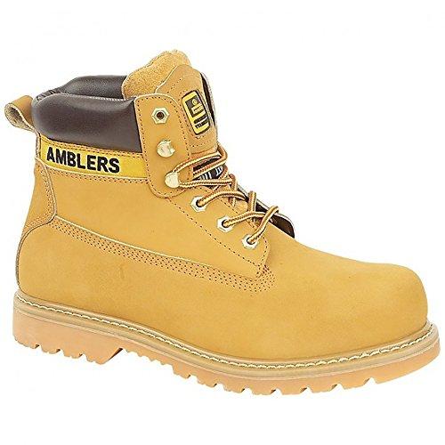 Amblers Steel FS7 - Chaussures montantes de sécurité - Femme Miel