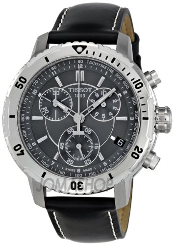 Tissot Tissot PRS 200 Chronograph Schwarz Zifferblatt Quarz Sport Mens Watch T0674171605100