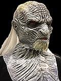 BLANC WALKER Masque De luxe Latex Tête Complète Game of Thrones Déguisement Masques