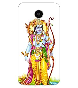 ColourCraft Lord Rama Design Back Case Cover for MEIZU BLUE CHARM NOTE 3