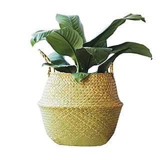 ACMEDE Seagrass Basket Handcraf Home Storage Organisation For Storage, Flower Plant Pot,Laundry L/31 * 27cm