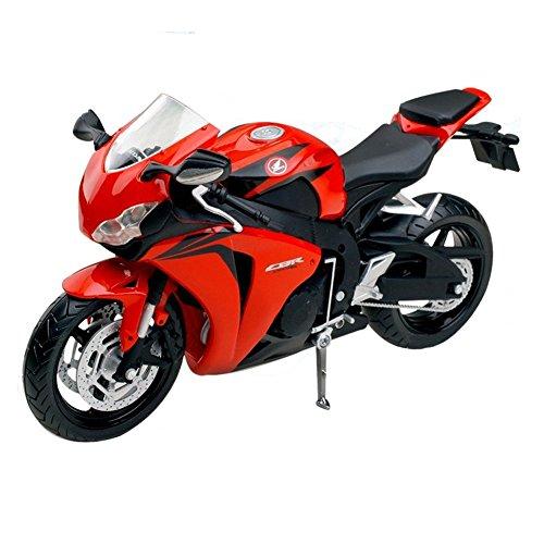 Motorrad-Modell 1:12 Road Racing Motorrad (Rot / Schwarz)