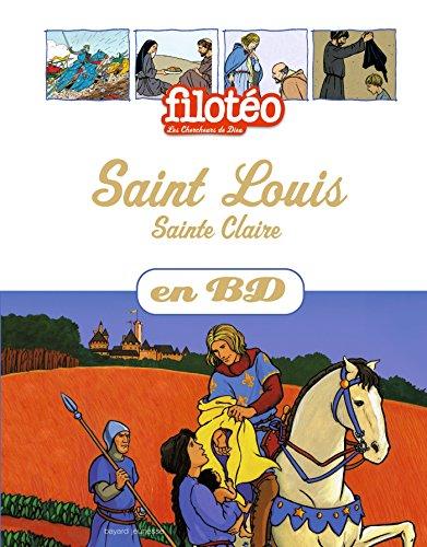 Saint Louis, Sainte Claire, en BD