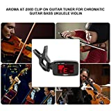 Best Aroma Violins - JANET CRUZ Aroma AT-200D Clip On Guitar Tuner Review