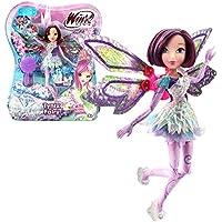 Winx Club - Tynix Fairy Doll - Tecna Doll 28cm with Magic Robe