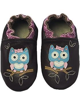 Rose & Chocolat RCC Polka Owl Baby Mädchen Lauflernschuhe