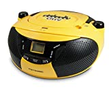 Metronic 477103 Radio CD portable Jaune
