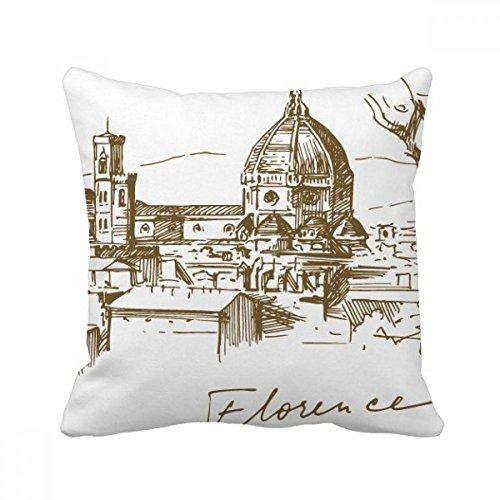 DIYthinker Fontana Di Trevi Rom Fontana Landmark-Platz Dekokissen Insert Kissenbezug Startseite Sofa Dekor-Geschenk -