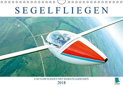 Segelfliegen: Lautlos fliegen mit Segelflugzeugen (Wandkalender 2018 DIN A4 quer): Segelflugzeuge: mit Thermik und Wind schrauben sie sich in den ... [Kalender] [Feb 15, 2017] CALVENDO, k.A.
