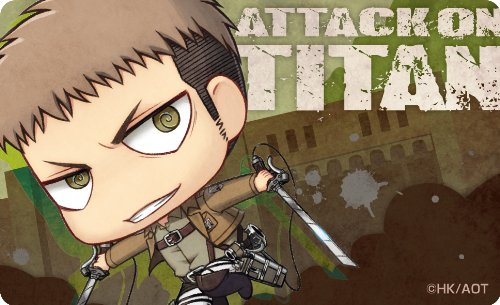 Angriff auf Titan Dekoration Mantel 9 Jean (Japan-Import)