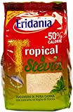 Eridania - Zucchero Di Pura Canna, Tropical & Stevia, 500 G