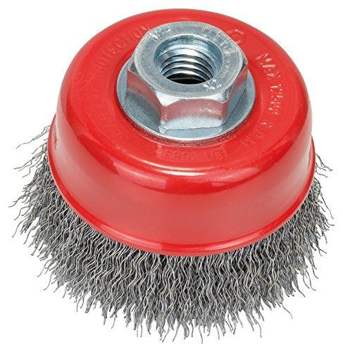 Bosch Professional Topfbürste, gewellter Draht, 0,3 mm, 75 mm, 12500 U/ min, M 14, 2608622098