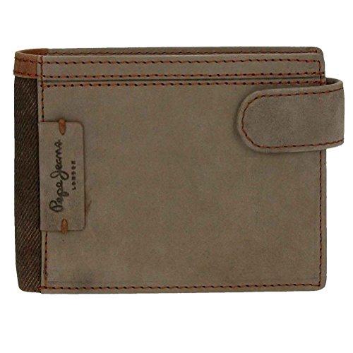 Pepe Jeans Denver Porte-Carte de Crédit, 11 cm, Marron 7587352