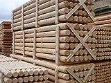 Holzpfahl-Handel.de Palisaden Holz Ø5 cm x 1,50 m Länge, ►•••10 Stk. = 1 VE•••◄ Sichtschutz, Rundstäbe,Beetumrandung,Rundholz,Rundhölzer,rund gefräst (►. Stückpreis 4,45€ ◄)