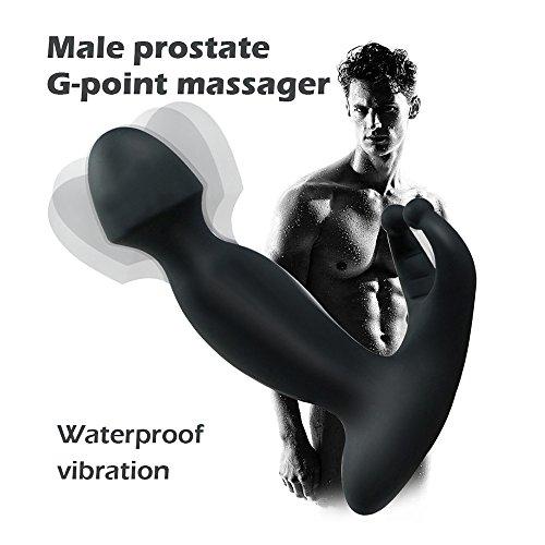Vibrator ,COLORFUL G-Punkt stimulieren Prostatamassager Anal Vibrator Sex Toys ,Aus Silikon, wasserdicht