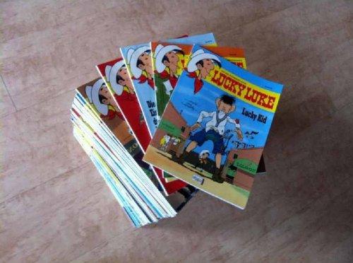 Lucky Luke - Die ultimative Komplett-Sammlung - Alle 75 Bände - Band Nr. 15 bis 89