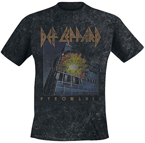 Def Leppard Pyromania Men's T-Shirt. M to XXL