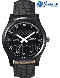 Jainx Casual Black Dial Analog Watch For Men & Boys - JM192