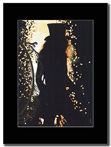 Guns 'N' Roses-Slash-nell' ombra Magazine promo su una montatura nero