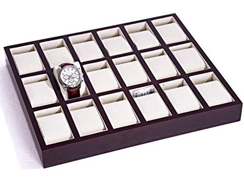 MUXIA Paint Watch Platte/Watch Anzeige Platte/6-Bit, 12-Bit, 18-Bit, 24-Bit, 30-Bit sprühlackierte Uhrenbox (Kein Deckel), 18 - Bit Dial (Anzeigen-platten)