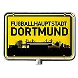 Borussia Dortmund BVB 17140100 Autoaufkleber Fußballhauptstadt