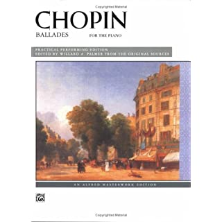 Chopin -- Ballades (Alfred Masterwork Editions)