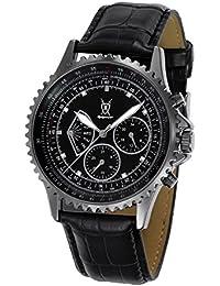 Konigswerk SQ201457G–Reloj de pulsera de hombre color negro