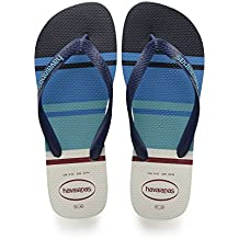 Infradito havaianas top nautical da uomo fantasia blu