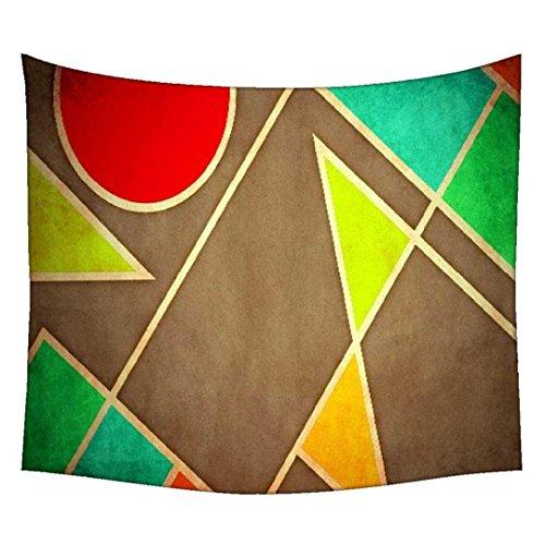 Pastell Geometrische Formen 2677Wandteppichen indischen Mandala Tapisserie Dekorative Wohnheim Wandteppichen Beach Picknick Tabelle Hippie Tapisserie Wand, Bohemian, multi, 42 x 30 (Pastell-tie Dye)