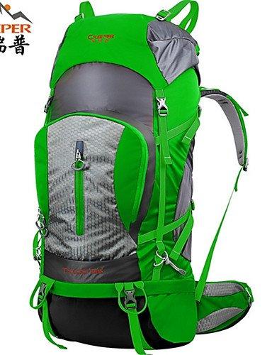 HWB/ 75L L Tourenrucksäcke/Rucksack / Wandern Tagesrucksäcke / Rucksack Camping & Wandern / Klettern / Reisen DraußenWasserdicht / Red