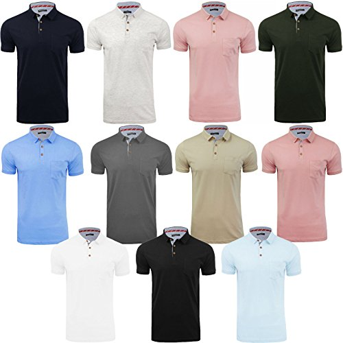 Brave Soul Mens Polo T-Shirt by Julius' Short Sleeved