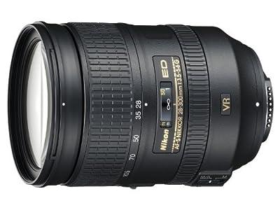 Nikon 28-300mm f/3.5-5.6G ED VR AF-S Nikkor Zoom Lens for Nikon Digital SLR