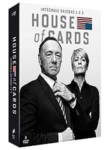 House of Cards - Intégrale saisons 1 et 2 [DVD + Copie Digitale]