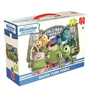 Disney Pixar Monsters University Shaped Floor Puzzle (15 Pieces)
