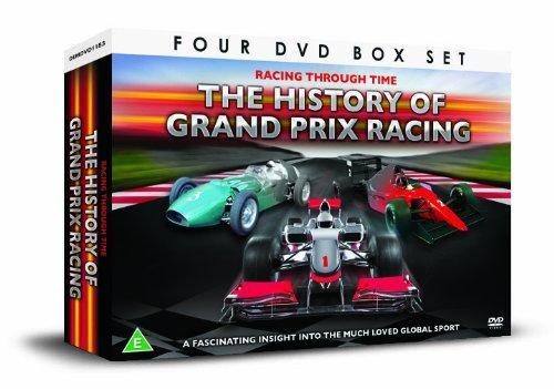 HISTORY OF THE GRAND PRIX 4 DVD Gift Set [UK Import]