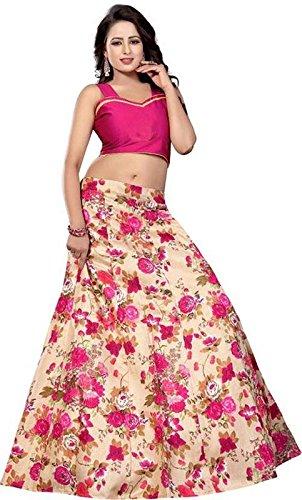 pink color lehengha choli(free_size_size)