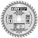 CMT Orange Tools Kreissägeblatt Feinschnitt HW 165 x 2,2/1,6 x 20 Z=40 15° ATB - 292.165.40H - für Querschnitte