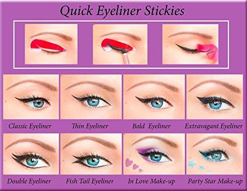 ORIGINAL Rapide Eyeliner Stickies Outil de Maquillage des Yeux Parfait 80pcs