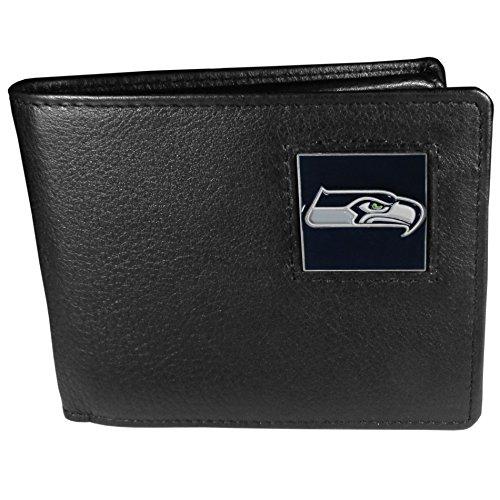 Siskiyou Gifts Co, Inc. NFL Damen Geldbörse Leder Bi-fold, Damen, Seattle Seahawks, One Size Fits All