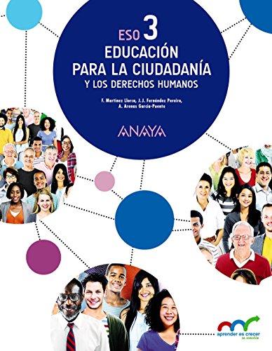 Educación para la ciudadanía y los derechos humanos 3 (aprender es crecer en conexión)