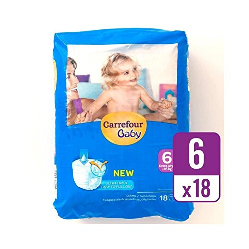 carrefour-baby-ultra-dry-pull-on-size-6-carry-pack-18-per-pack-pack-of-2