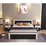 MM Furniture Royal Queen Size Bed with Box Storage