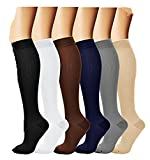6pares de calcetines Medias de compresión Compression–Calcetines unidad...