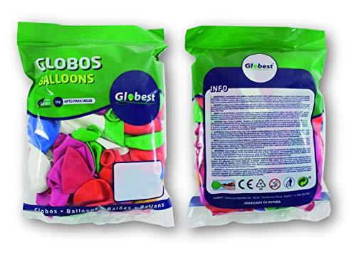 Globest- látex, Color surtido (Globos Festival 50050)